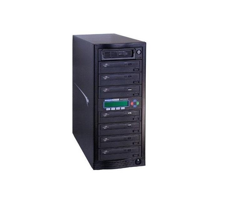 Kanguru Solutions 7 Target 16x External CD/DVD Usb Duplicator DVDDUPE-SHD7