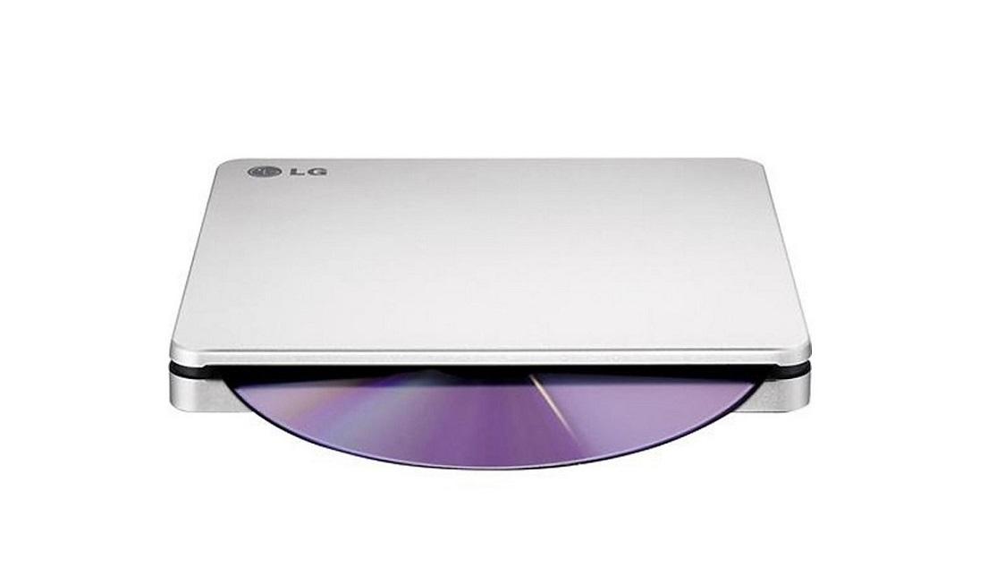 Lg Electronics 8x External Double-Layer Portable Dvdrw Usb Supermulti Blade Drive Silver AP70NS50