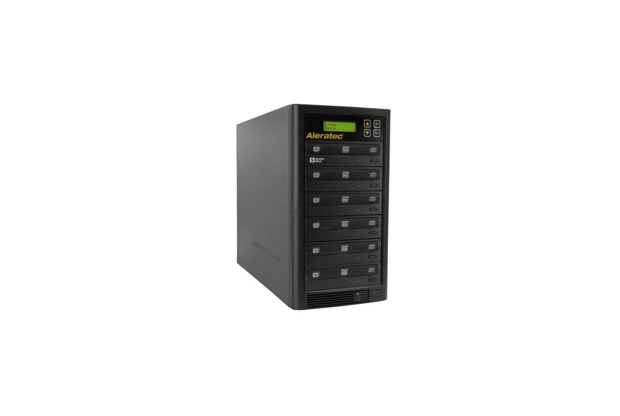 Aleratec 260181 1:5 Dvd Cd Copy Tower Stand-alone Duplicator