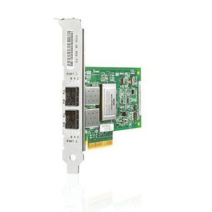 HP StorageWorks 82Q PCI-e Fibre Channel Host Bus Adapter Dual Port Network Adapter PCI Express AJ764A