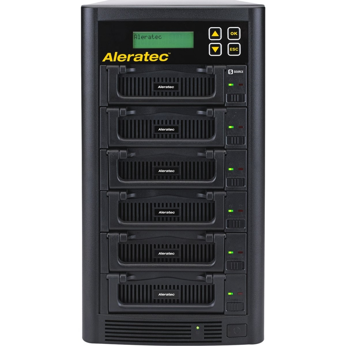 Aleratec 350130 1:5 HDD Copy Cruiser IDE/SATA High-Speed Duplicator