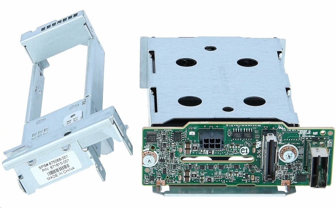 HPE HDD Front Kit Storage Drive Cage SATA/SAS/PCIe For DL38X 826687-B21