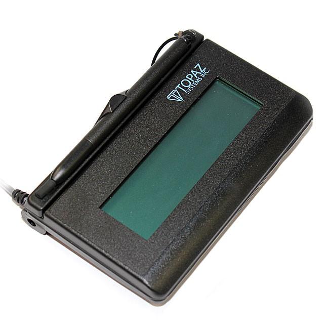 Topaz T-L462 Signature Gem LCD 1x5 Electronic Signature Pad T-L462-B-R