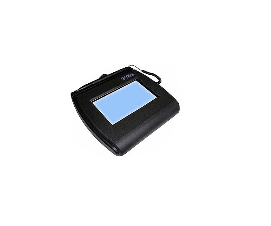Topaz Systems Signaturegem 4x3 Lcd Signature Capture Pad Usb Serial T-LBK755SE-BHSB-R
