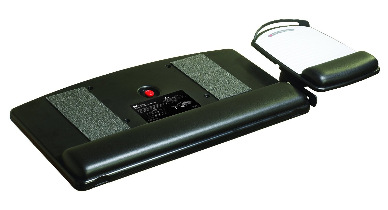 3M Adjustable Keyboard Platform Tray With Mouse Drawer Black KP200LE