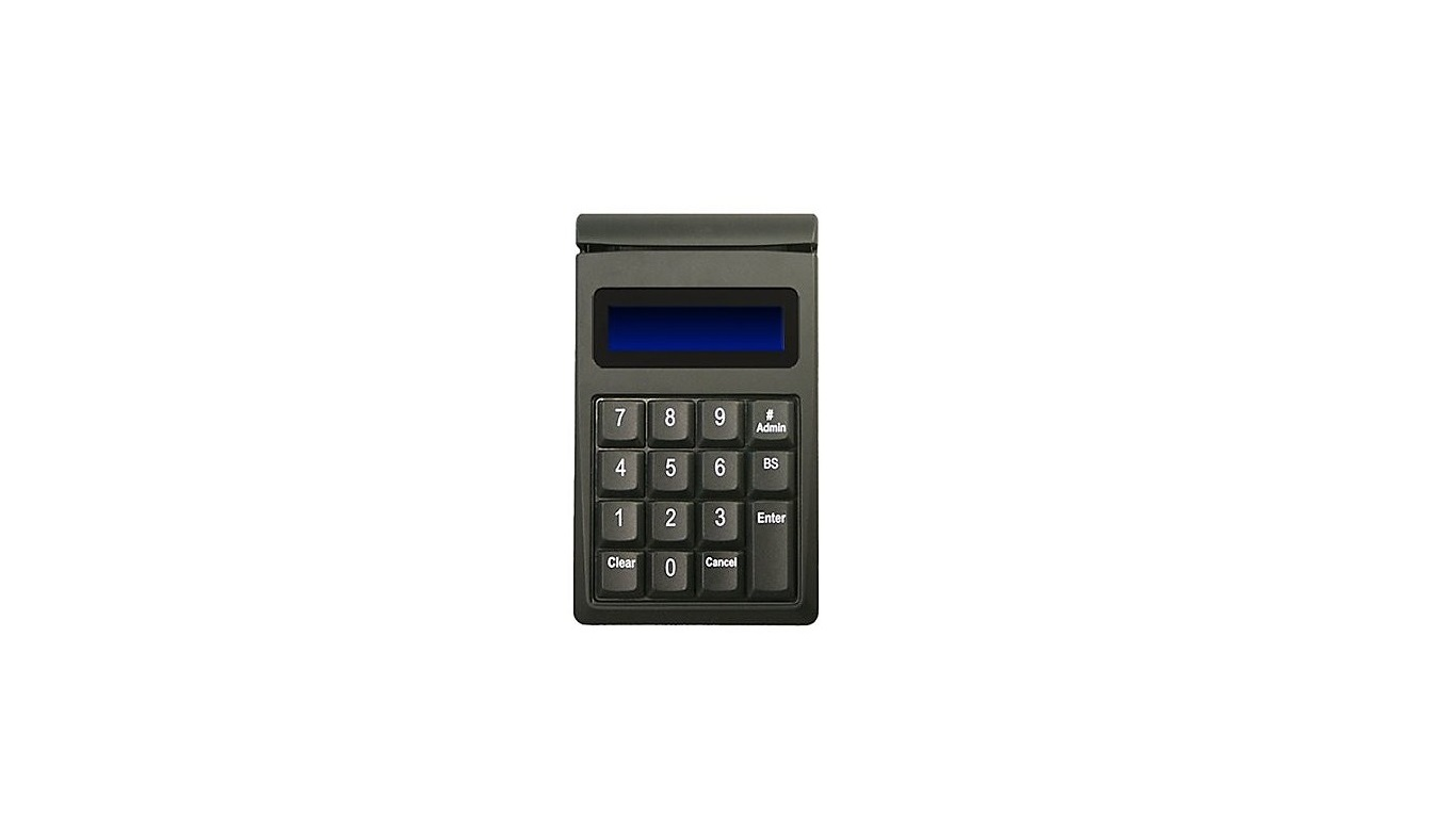ID Tech Securekey M130 KeyPad 15-Key USB w/ Magnetic Stripe Reader Black IDKE-534833BL