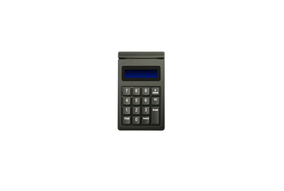 ID Tech Securekey M130 KeyPad 15-Key USB Black IDKE-534833ABE With MagStripe Card Reader