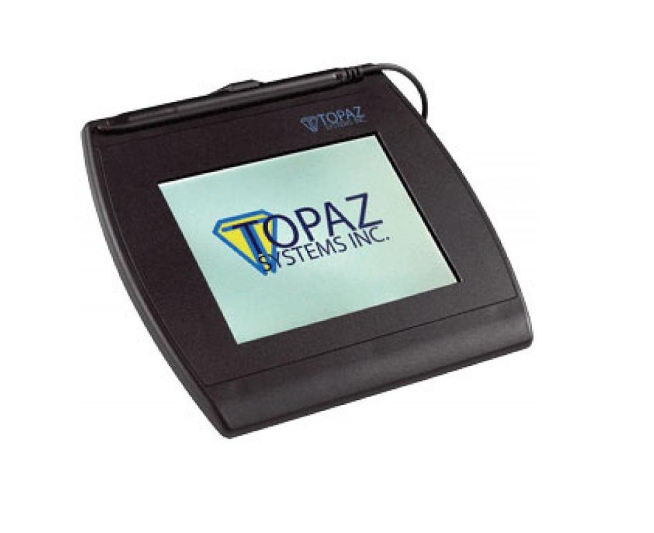 Topaz T-LBK57GC-WFB1-R SigGemColor Electronic Wi-Fi 5.7 Signature Pad T-LBK57GC-WFB1-R