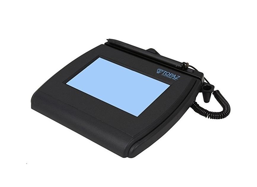 Topaz Siglite 4x3 LCD Signature Terminal Wireless Wi-Fi T-LBK750SE-WFB1-R
