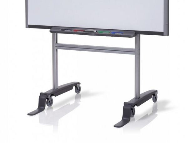 Smart Mobile Floor Stand For 77 To 87 Smart Board InterActive Whiteboards 1007553 FS-SB