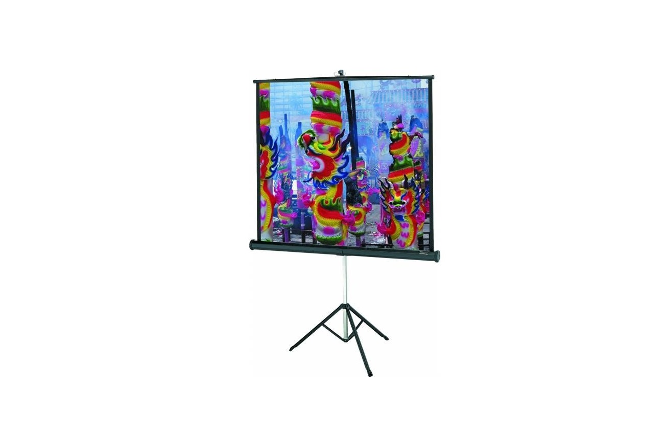 57 Da-Lite 89060 40x40 Versatol Tripod Projection Screen 89060
