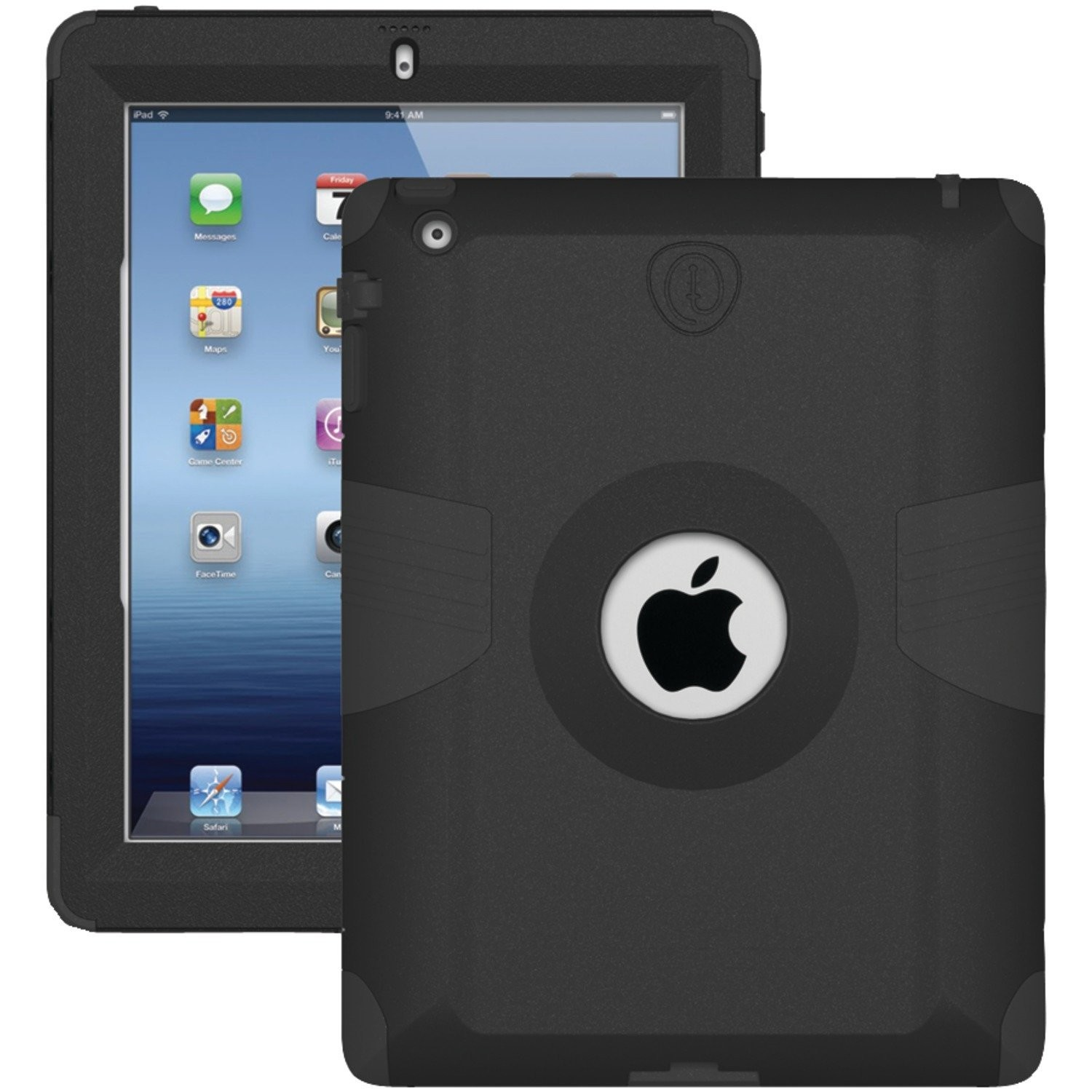 Trident Kraken AMS Case For Apple Ipad 2/3/4 Ipad Black AMS-NEW-IPADUS-BK