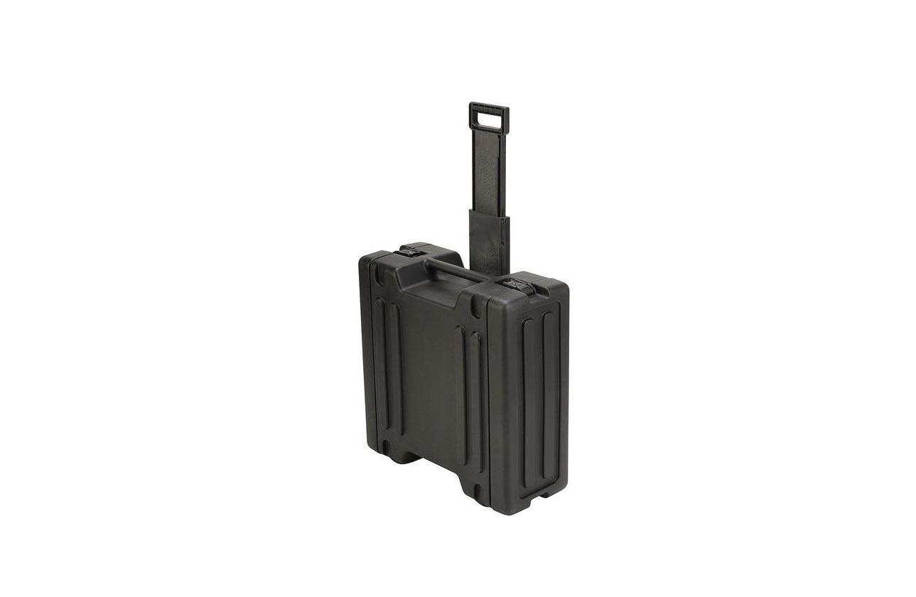 SKB Cases 4U Space Rack W Inline Wheels/TSA Latches/Handle 1SKB-R4W