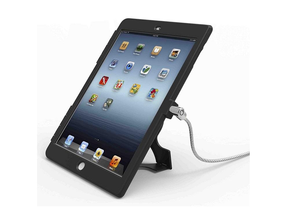 Maclocks Lockable Ipad Air Lock & Security Case With 6-Foot Cable Black Ipadairbb