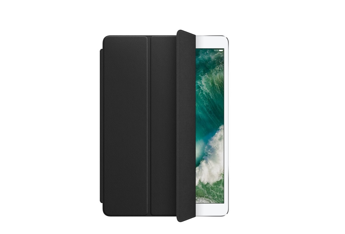 Apple Leather Smart Cover For 10.5 Ipad Pro Black MPUD2ZM/A