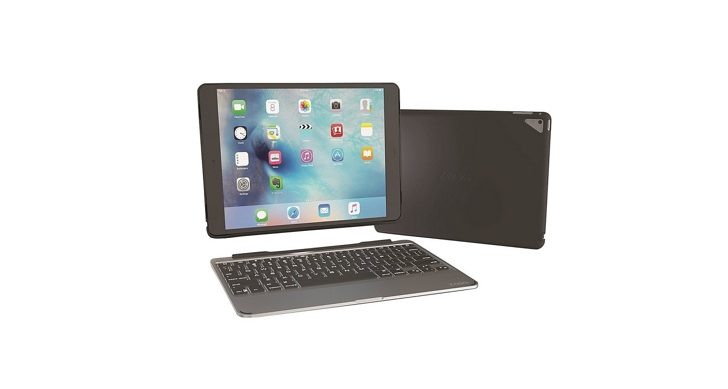 Zagg ID8ZF2-BB0 Wireless BlueTooth Keyboard Folio Case For Ipad Pro 9.7 ID8ZF2-BB0