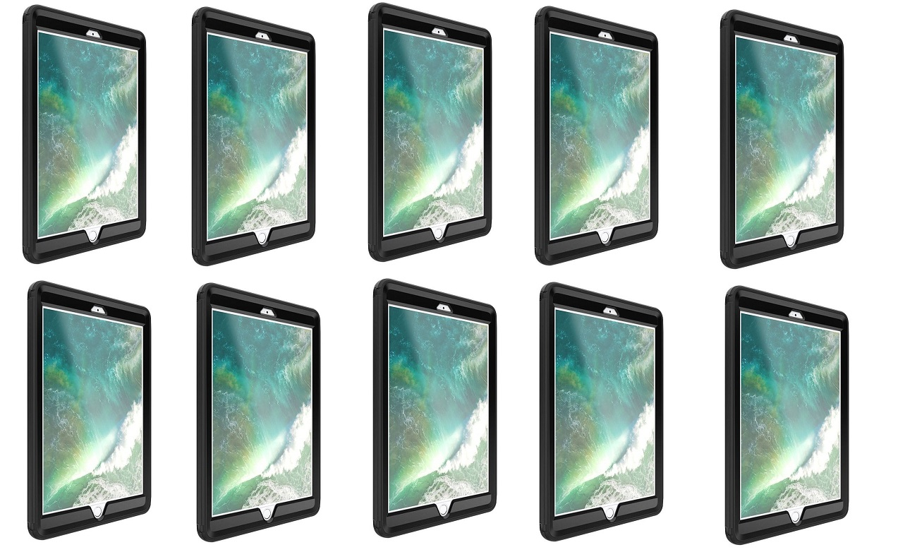 OtterBox Defender Series Case For Ipad 5th 6th Gen Black Pack of 10 78-51462
