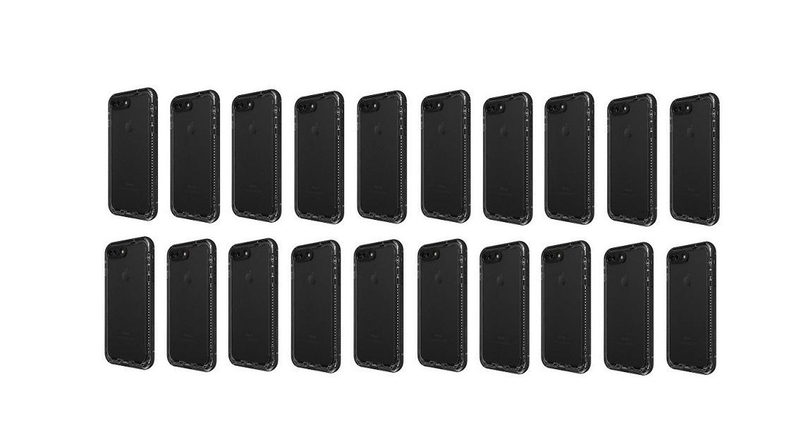 OtterBox 20-Pack Nuud Pro Black F/ Apple iPhone 7 Plus 78-51359 7851359