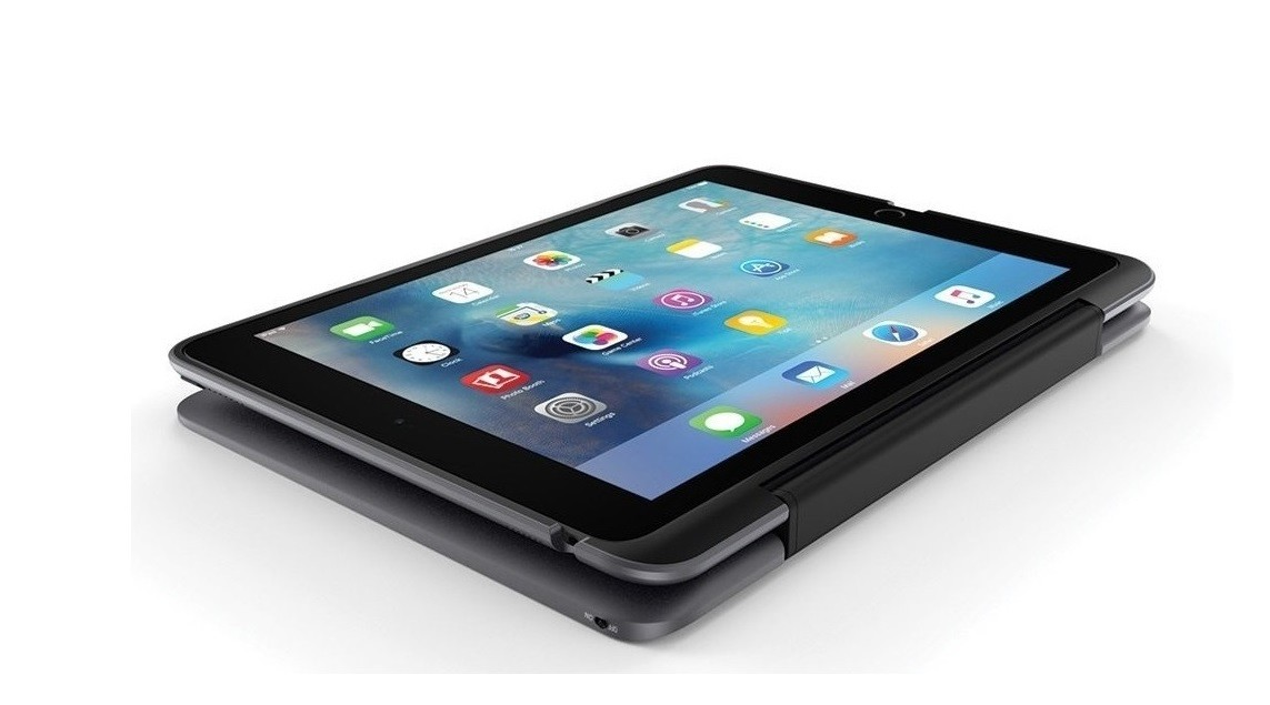 Incipio Clamcase and BlueTooth Keyboard For Ipad Pro 9.7 (2016 Only) Space Gray IPD-327-SGRY