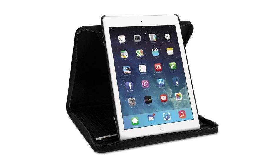 Filofax Microfiber Case For Ipad Air 2 Black B829927