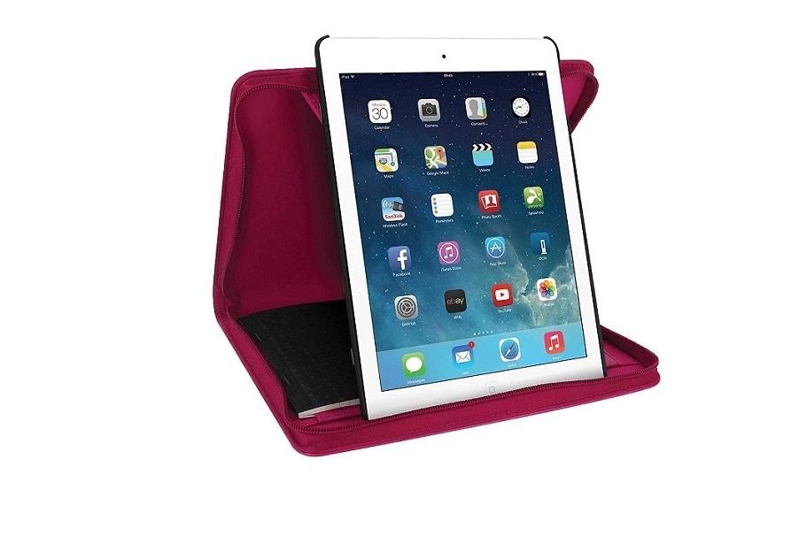 Filofax B829835 Pennybridge Case For Ipad Air 9.7in Raspberry B829835
