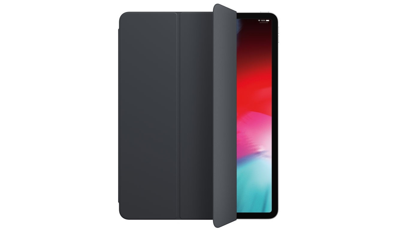 Apple Smart Folio For 12.9 Ipad Pro Charcoal Gray MRXD2ZM/A