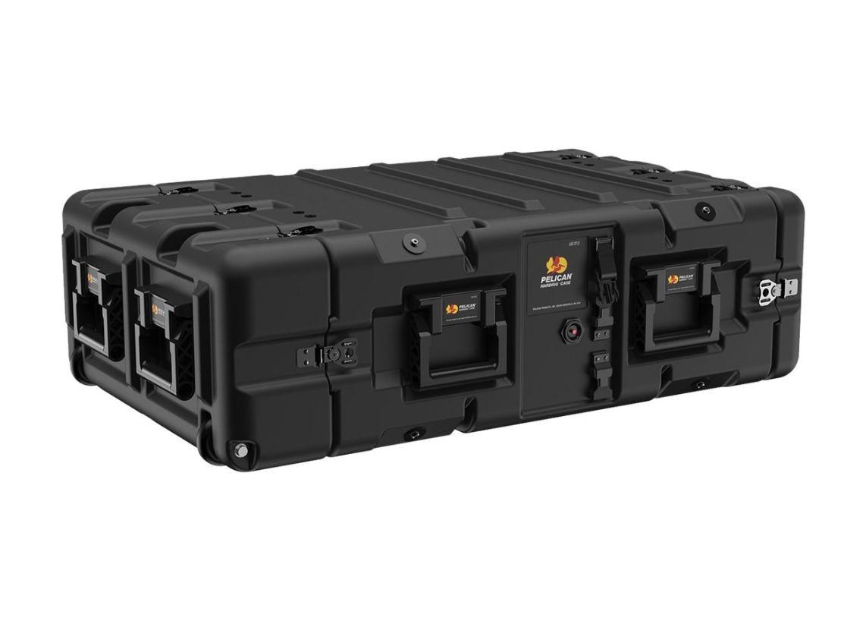 Pelican SUPER-V-3U-SAE Super V Series 3U Rack Case Black