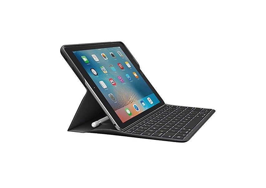 Logitech Create Wired Keyboard And Folio Case For Apple Ipad Pro 9.7 Black 920-008101