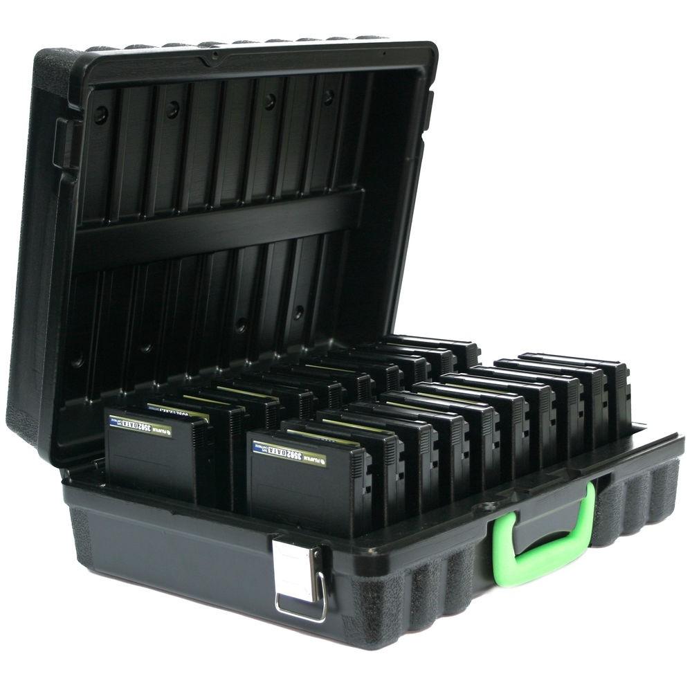 Turtle 3592/T10000 Compatible Case 20 Capacity Black 03-679299