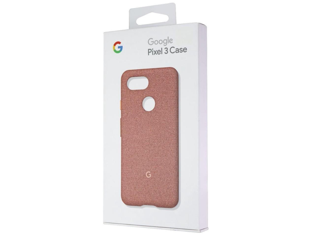 Google Fabric Case Cell Phone For Pixel 3 Moon Pink GA00492