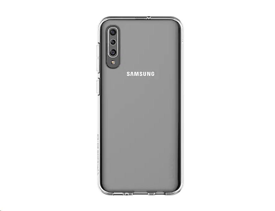 Genuine Samsung A50 A Cover Clear GP-FPA505KDATW