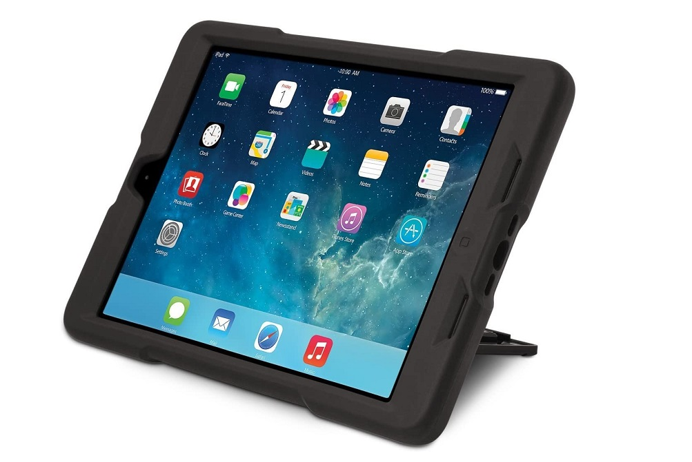 Kensington 2nd Degree Rugged Carrying Case For Ipad Air Black K97065US