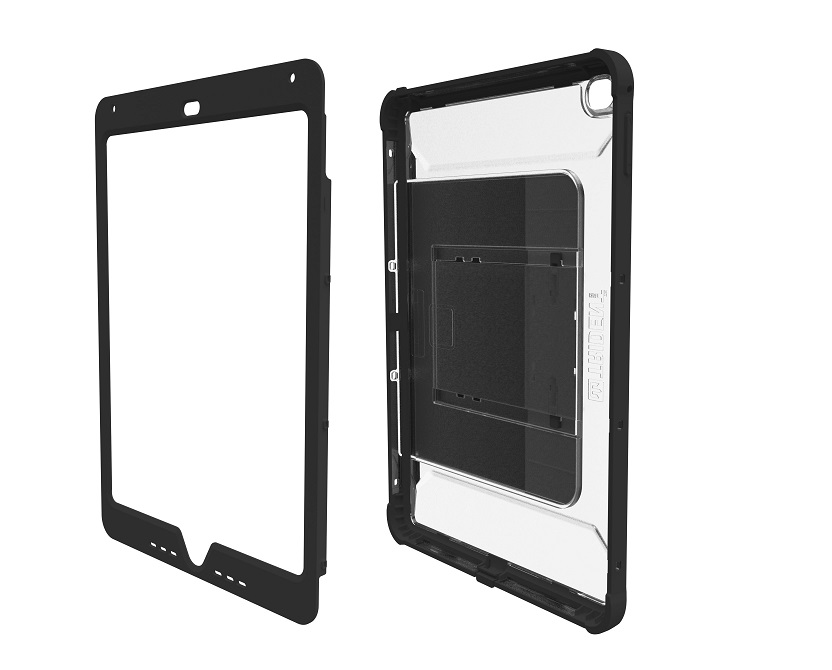 Trident Cyclops Series 9.7 Stand Case Sliding For Apple Ipad Air 2 Transparent CY-APIPA2-CLSLK