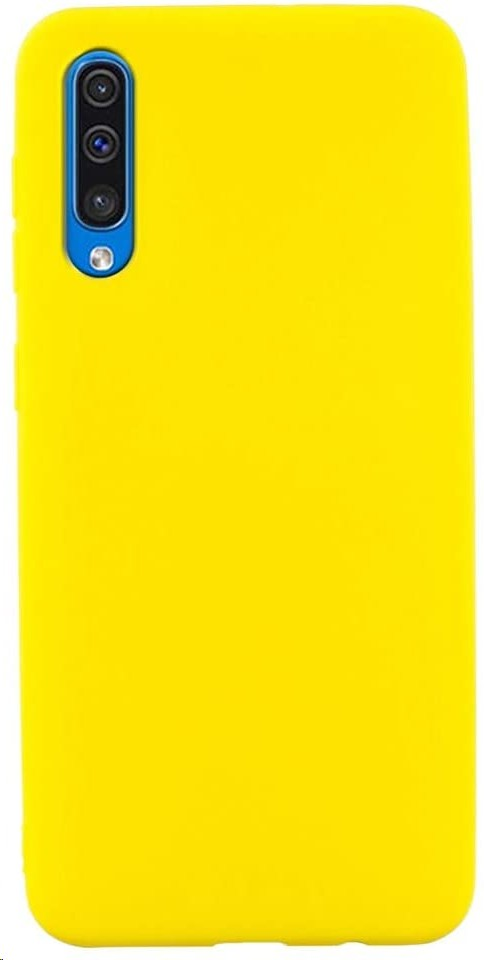 Samsung Galaxy A50 Premium Hard Case Yellow GP-FPA505WSBYW