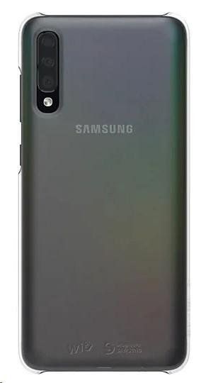 Samsung Premium Hard Case Galaxy A70 Silver GP-FPA705WSASW