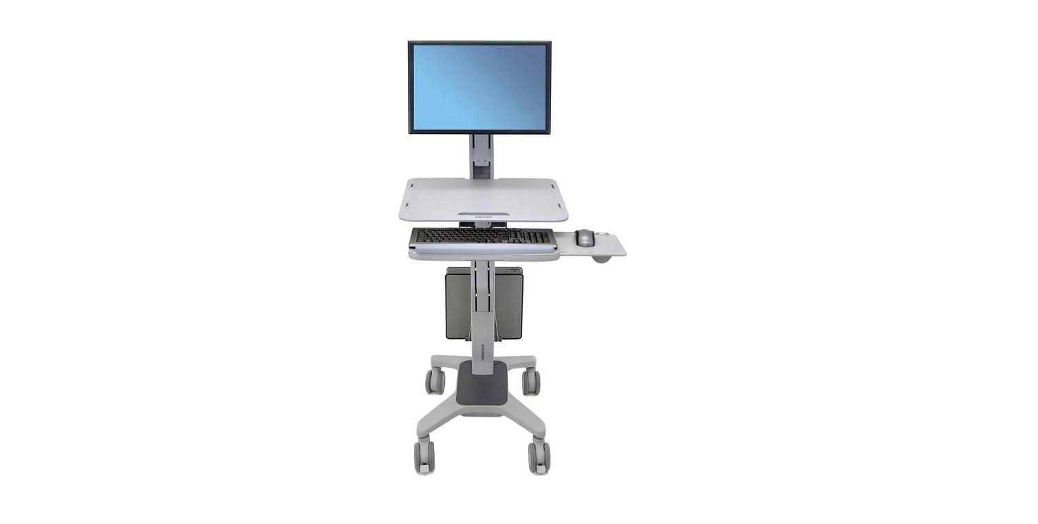 Ergotron WorkFit-C Single LD Sit-Stand Workstation 24-198-055