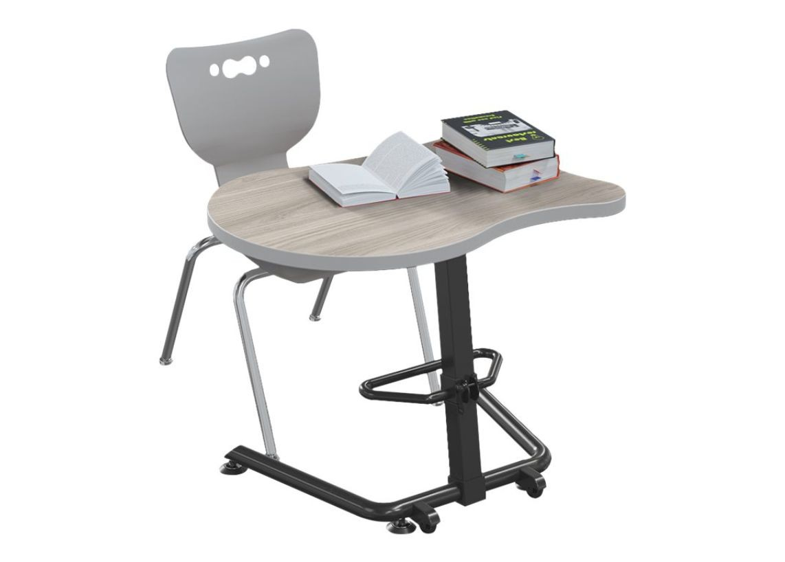 Mooreco 90532-F-8201-HNVY Up-Rite Fender Sit Standing Desk