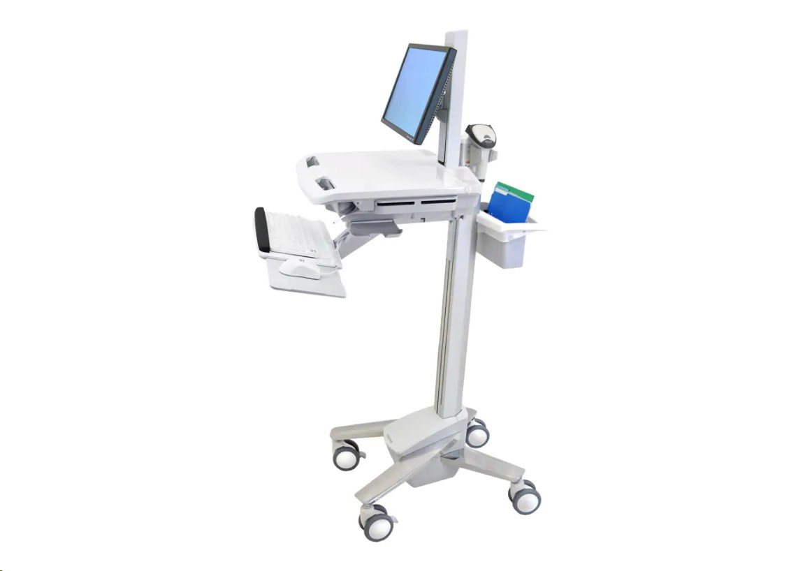 Ergotron Styleview With Lcd Pivot Medical Cart SV41-6300-1 SV4163001