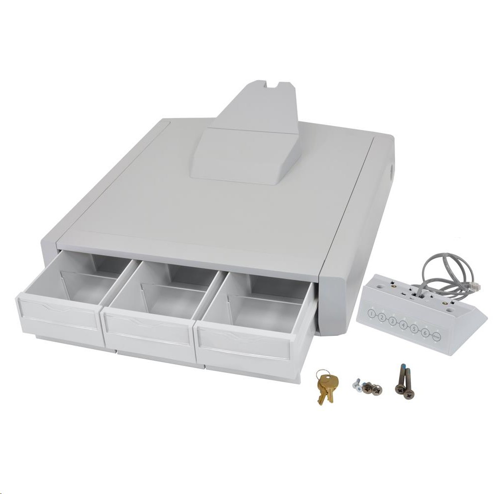 Ergotron SV44 Primary Triple Drawer For Lcd Carts 97-867