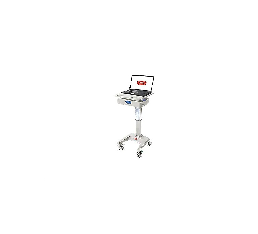 Capsa Healthcare Solutions Artromick LX5 Laptop Computer Cart With 3 Drawer LX5-NG-D10-M-35