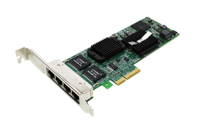 Dell Quad Port PRO/1000 ET PCI Express x4 GigaBit NIC Network Card HM9JY 0HM9JY