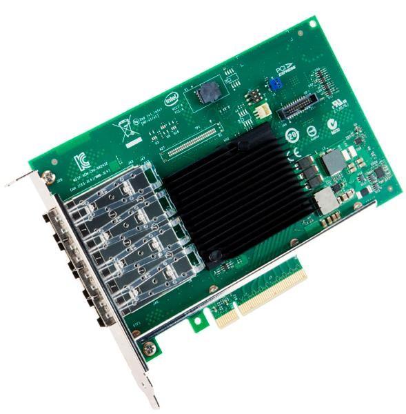 Intel X710-DA4 10Gigabit Ethernet PCI Express 3.0 x8 4-Ports Converged Network Adapter X710DA4FHBLK