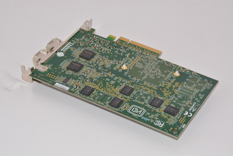 NetApp Chelsio Dual Port 10GB PCI-E w/Transceivers Network Card 111-00293+A2 X1008A-R6