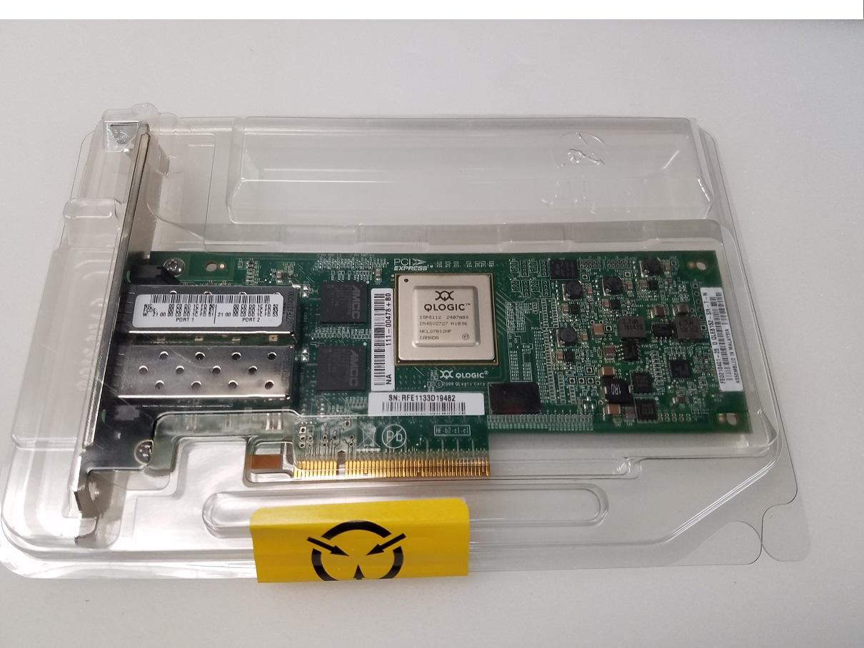 QLogic QLE8152 10GBase-X Fcoe PCI Express x8 2-Ports Internal QLE8152-SR-T