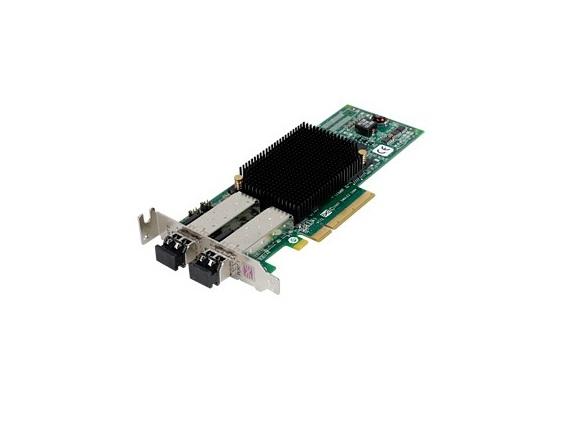 Dell Emulex LPe-12002 LightPulse 8GB Dual Ports Fibre PCI Express 2.0 x8 0R7WP7 Low Profile