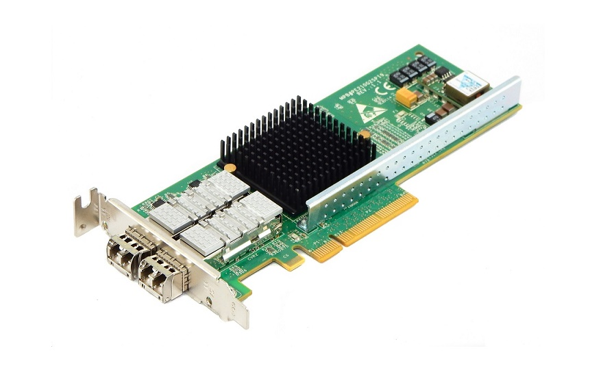 Silicom Dual Port Fiber 10GB w/Transceivers PCI Express x8 Card PE210G2SPI9-XR Low Profile Bracket