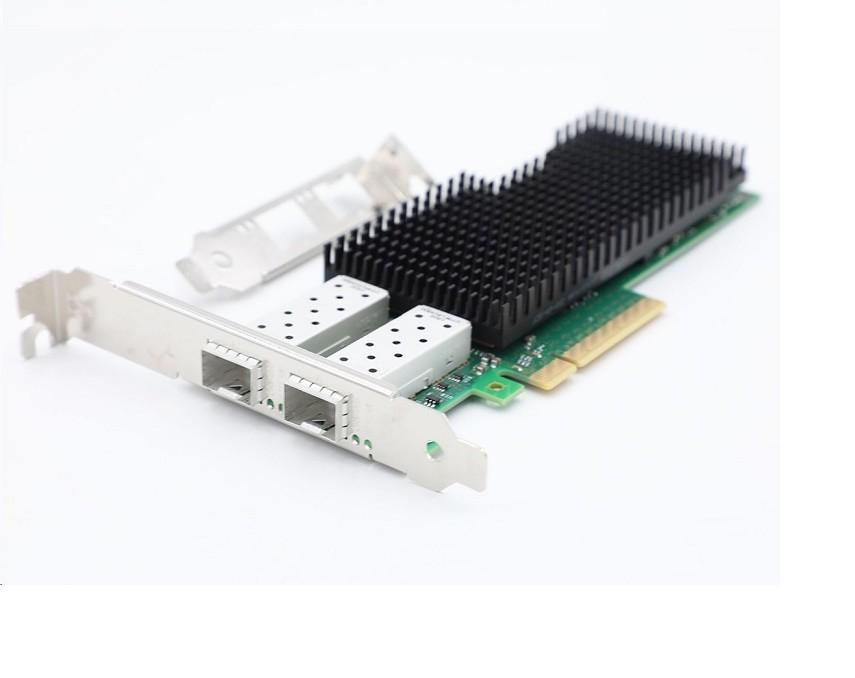 Intel XXV710-DA2 2-Ports PCI Express 3.0 x8 Optical Fiber Network Adapter Bulk XXV710DA2BLK