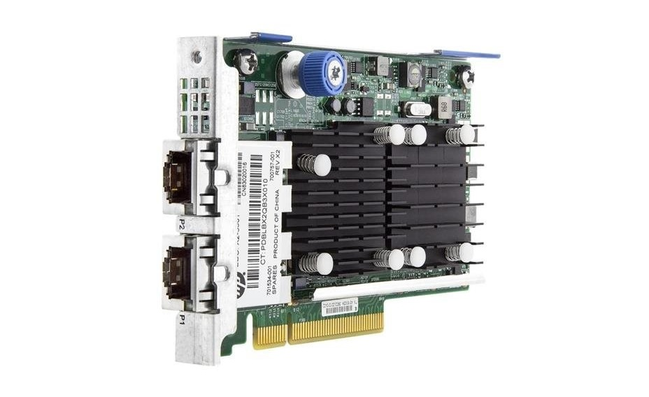 HP FlexFabric 10GB 2-Ports 533FLR-T 10Gigabit PCI Express x8 Adapter 700759-B21