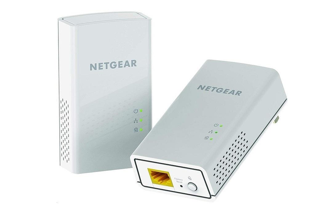 NetGear Powerline 1-Port 1200Mbps GigaBit Wall-pluggable Bridge PL1200-100PAS