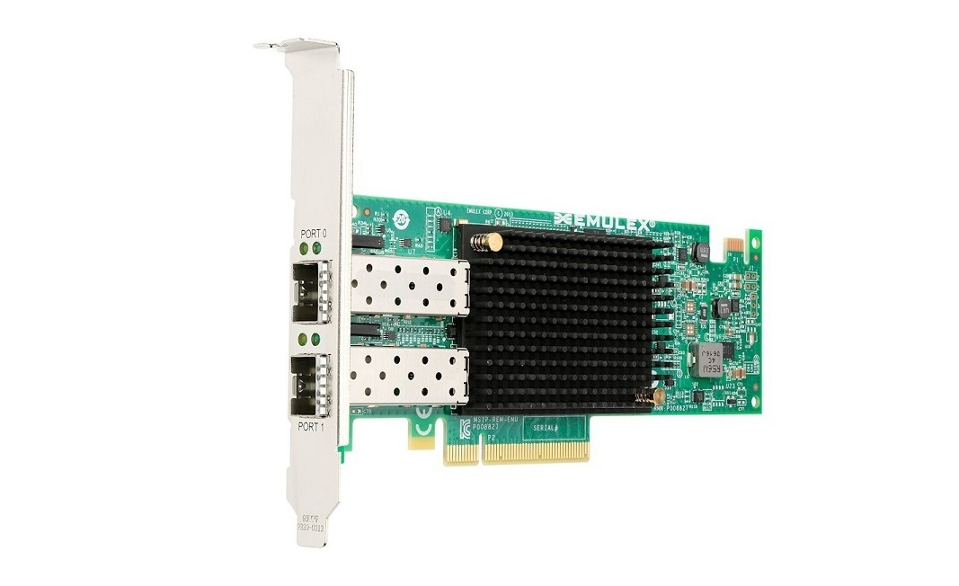 Lenovo Emulex VFA5 2x 10GbE SFP+ PCI Express x8 Adapter For System X 00JY830